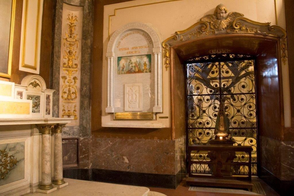 Armenian altar in the Metropolitan Cathedral